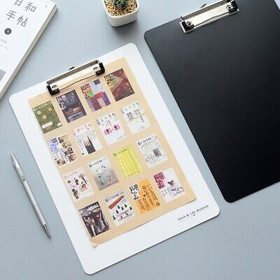 Clipboard Writing Pad File Folders Document Holders School Office Stationery A4