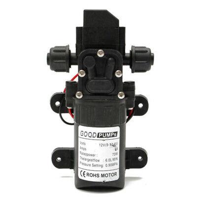 12v 70w 6a Mini High Pressure Micro Diaphragm Water Pump Automatic Switch 6lmin