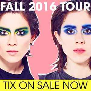 Tegan and Sarah tickets for October 8th