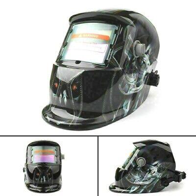 Solar Auto Darkening Welding Helmet Arc Tig Mig Mask Grinding Welder Terminator