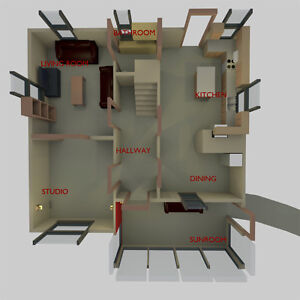 3D Floor Plans and Architectural Visualizations