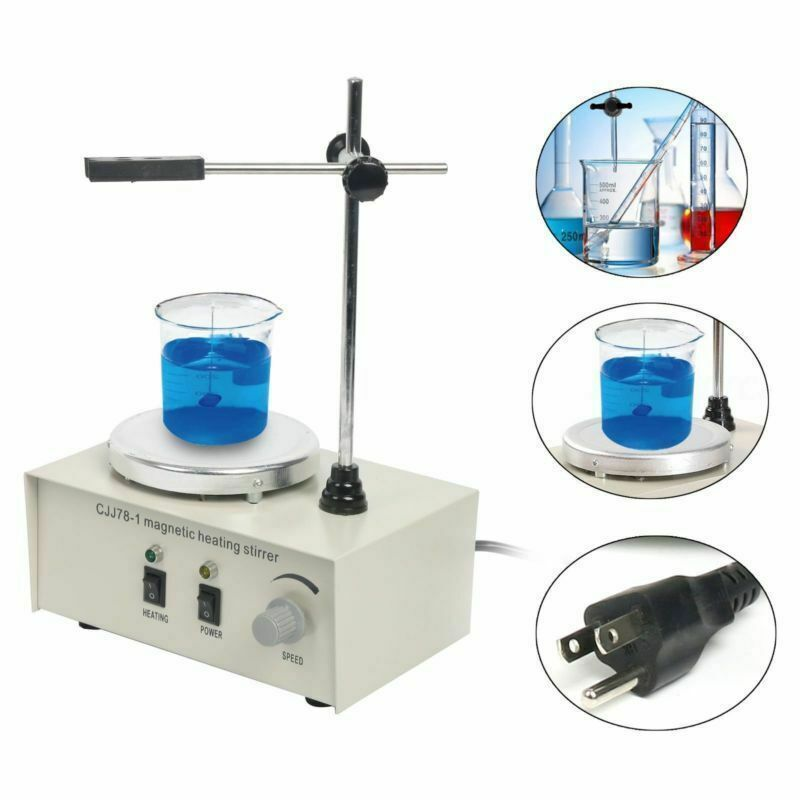 HOT!!! 1000ml Magnetism Stirrer Heating Mixer Hot Plate Magnetic Machine