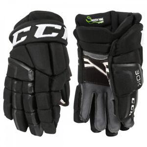 "CCM 30K Pro Hockey Gloves - Black Senor 14"" Tapered fit"
