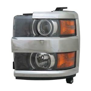 2015-2017 Chevrolet Pickup Chevy Silverado 2500 Driver Side Headlight Assembly - NSF Certified ®