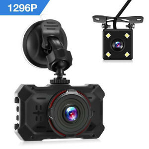 Dash Camera - 1296P Ultra HD - Front and Rear - Brand New