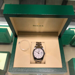 Rolex Datejust 41mm, White Dial