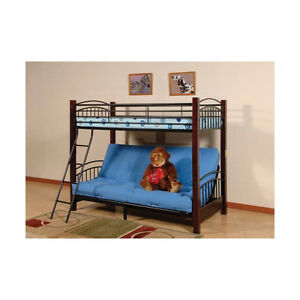 Bunk Bed - twin over full futon