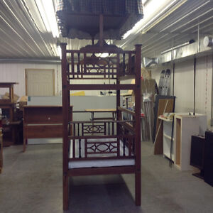 Antique Anglo-Indian child's bunk bed. circa late 1890's