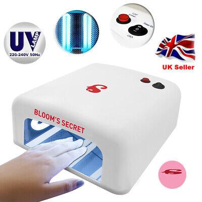 UV LED Lamp Nail Dryer 36W for Manicure Gel Nails Drying Lamp for Gel Varnish UK