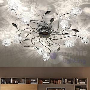 Plafoniera soffitto lampada 80 design moderno acciaio for Plafoniera soggiorno