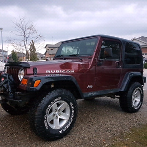 Wanted jeep TJ Rubicon or TJ unlimited