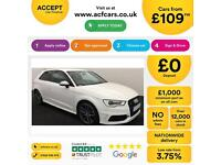 Audi S3 FROM £109 PER WEEK!