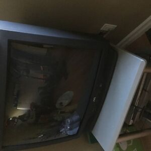 "For Sale JVC 32"" TV + DVD player + stand"