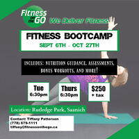 8 Week Fitness Bootcamp - Get Fit For Fall!