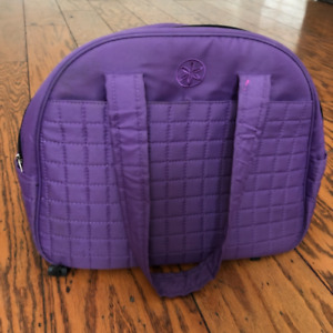Lululemon purple gym / yoga bag NEVER USED