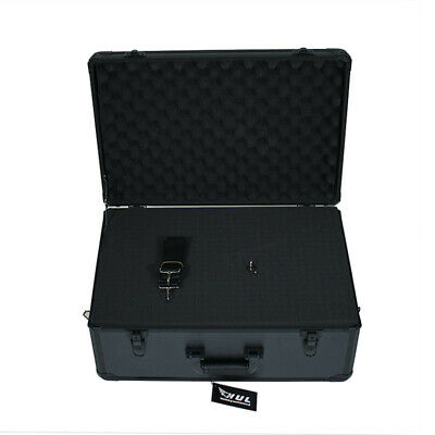 22in Aluminum Hard Case with Pelican 1600 Style Pluck Foam for Cameras Guns Lens ()