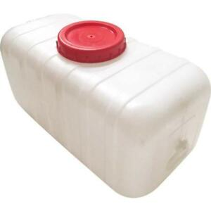 50 gallons horizontal plastic water storage tank023048