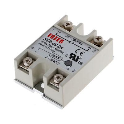 25a40a40da Ssr-25da Ssr-40da Ssr-40aa 250v Solid State Relay Module Heat Sink