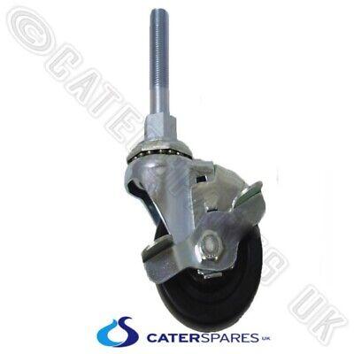 Henny Penny Hp17629 3 Stem Braked Caster Wheel For Pressure Fryer 17629 Oem