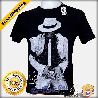 T SHIRT NEW MICHAEL JACKSON MJ V4 SIGNATURE KING OF POP RTO VTG NWT SZ M L XL
