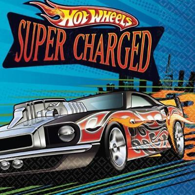 Hot Wheels Speed City Party Supplies-Beverage Napkins 16ct.