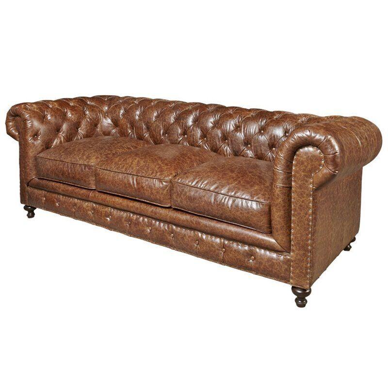 Fabulous Universal Furniture Curated Berkeley Leather Sofa In Brown Dailytribune Chair Design For Home Dailytribuneorg