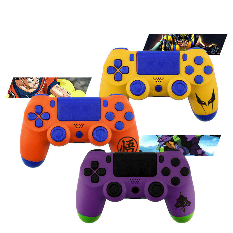Dragon Ball Goku EVA-01 PS4 Slim Controller Shell Case Full