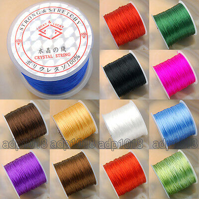 65 Yard Strong Stretchy Elastic String Thread For Diy Bracelet OR Necklace (String Bracelet)