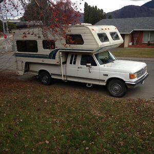 Truck/camper combo