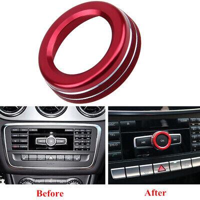 Für Mercedes Benz A B E GLK GLA CLA GLE ML GL AMG Ring Radio Rahmen Zubehör