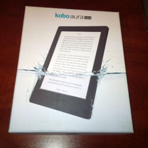 "Kobo Aura H2O WATERPROOF 6.8"" Digital eBook Reader- Touchscreen"
