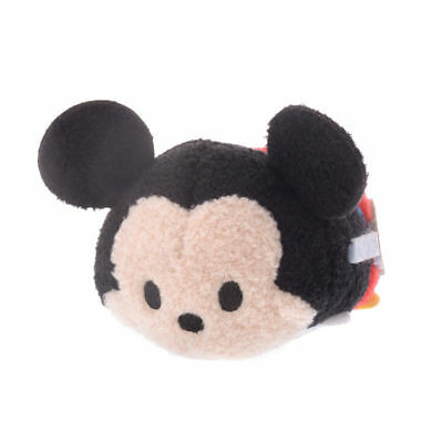 Disney Store Japan 90th 1937 Mickey Clock Cleaners Mini Tsum Plush New with Tags
