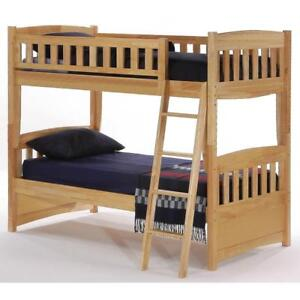 NOW AVAILABLE - Cinnamon Twin/Twin Bunk Bed Up To 50% Off Local Retailer Prices!