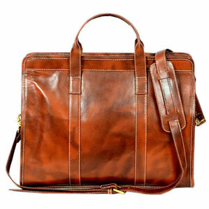 Office Genuine Leather Laptop Bag