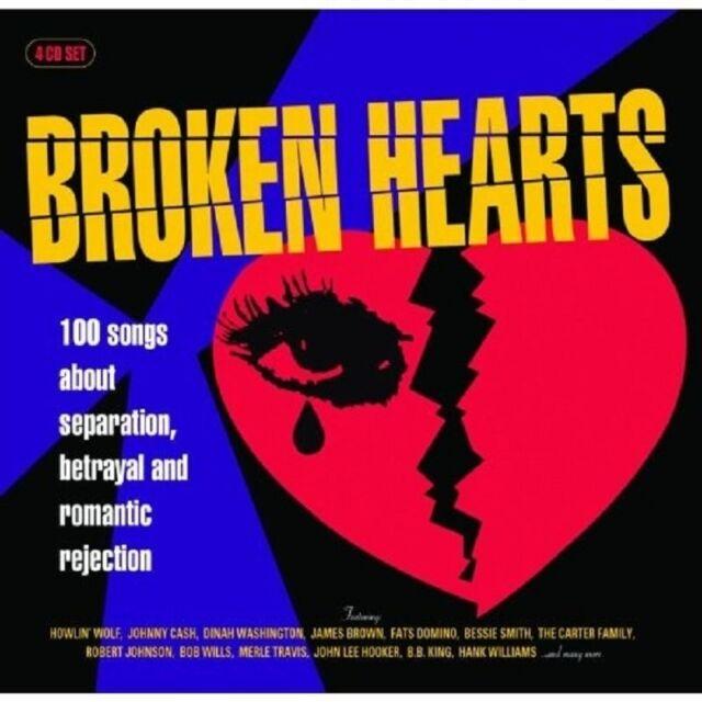 BROKEN HEARTS 4 CD NEU
