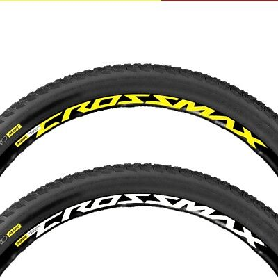 Mountain Bike Bicycle Wheel Rim Sticker for MAVIC CROSSMAX  Replacment Decals