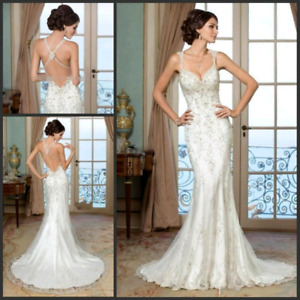 Kitty Chen Couture Evelyn Wedding Dress/Gown $800