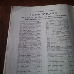 Official Programme Boy Scouts District of Toronto Cyclorama 1939 Kitchener / Waterloo Kitchener Area image 4