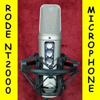 Rode NT2000 professional studio condenser microphone