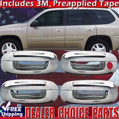 Cadillac Deville Door Handle - 2002-2007 Cadillac CTS 2000-2005 DeVille Chrome Door Handle COVERS Overlays trim