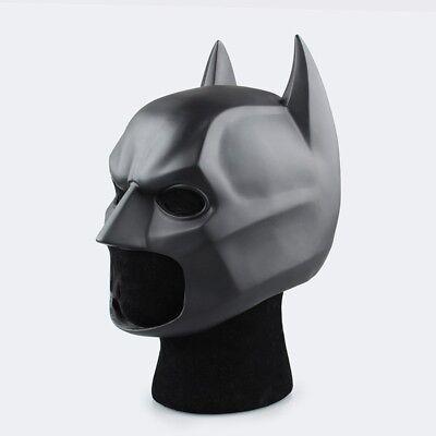 Brand New Batman Mask Dawn of Justice Dark Knight Rises Super Heroes PVC Cowl
