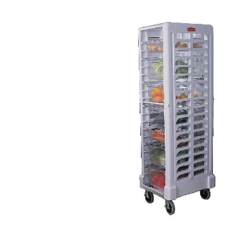 Just in time for the Christmas rush a 20 grid rubbermaid trolley to fit standard gastronome trays