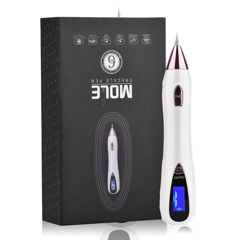 Laser Mole Tattoo Freckle Removal Pen LCD Sweep Dark Spot Mo