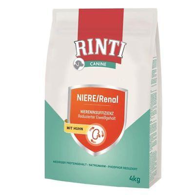 RINTI Canine NIERE/Renal | 4kg Diät-Hundefutter trocken
