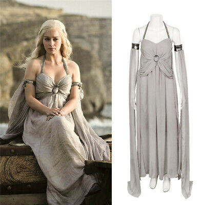 Khaleesi Dress Costume (Game of Thrones Daenerys Targaryen Khaleesi Cosplay Costume Dress For)
