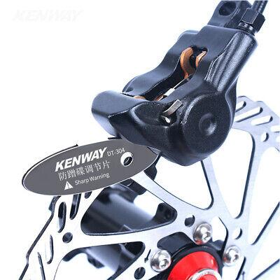RISK Regulador de Pastillas de Freno de Disco de Bicicleta de MontañaJ9X8