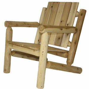 Amish/Mennonite made cedar log chairs and furniture