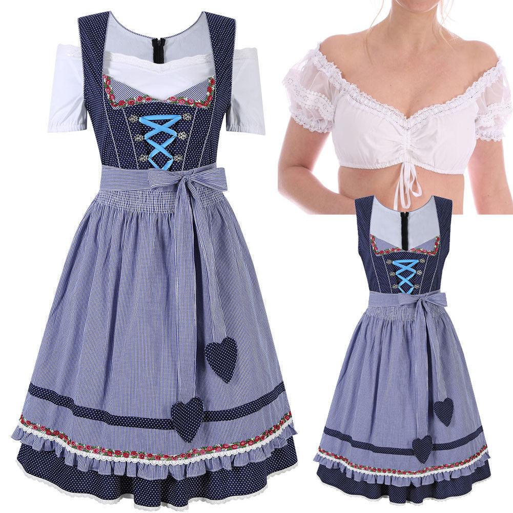 Elegant Dirndl Dress | Dressed Up Girl