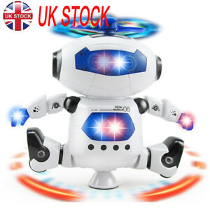 UK Toys For Boys Robot Kids Toddler Robot 3 4 5 6 7 8 9 Year Old Age Boys Toy