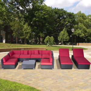 patio 9 pc sectional set for sale brand new factory direct